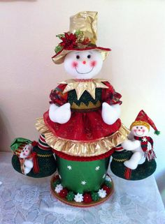 Christmas Snowman, Christmas Wreaths, Christmas Crafts, Christmas Ornaments, Poinsettia, Stampin Up, Diy And Crafts, Merry, Holiday Decor