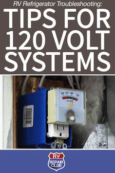 If your absorption refrigerator is not working, your first RV refrigerator troubleshooting step should be to verify that both the LP gas and 120 volt electrical systems are operating properly. Meaning you will want to verify that you have power coming into the RV before continuing any further RV refrigerator troubleshooting.