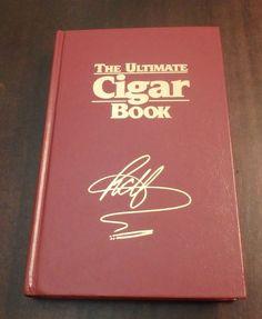 The Ultimate Cigar Book Richard Carleton Hacker Hardcover Second Ed Third Print