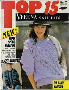Knitting Magazine, Cardigans For Women, Sweater Cardigan, Knitting Patterns, Women's Sweaters, Magazines, Craft, Tops, Sweater