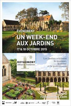 Première édition du Week-end des #jardins de Royaumont (Val d'Oise) http://www.pariscotejardin.fr/2015/10/premiere-edition-du-week-end-des-jardins-de-royaumont-val-doise/