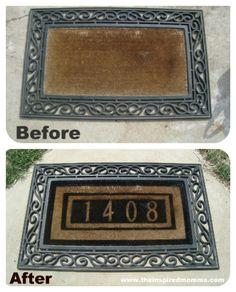 DIY Doormat Makeover {FEATURED}