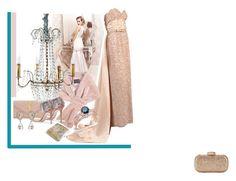"""linda ball"" by clarerizzo on Polyvore featuring Yves Saint Laurent, Pierre Balmain, Monique Lhuillier, Horgans, Giuseppe Zanotti, Auriya, Dolce&Gabbana and Birks"