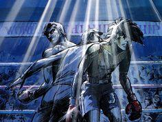 あしたのジョー | Tumblr Post Apocalypse, Manga Anime, Pop Art, Japanese, Cartoon, Black And White, Comics, Cool Stuff, Film