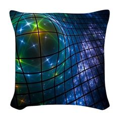 Woven Throw Pillow on CafePress.com