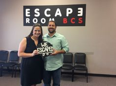 This couple celebrated their anniversary by escaping Classified in 58 minutes! Congrats!
