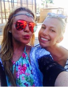 Gorgeous @lindasaylohan wearing a Summer Beach wear by Elena Chalet @Mykonos island