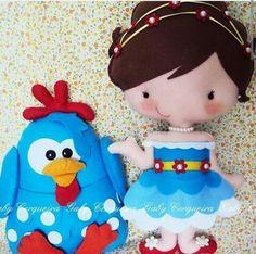 Princesinha e galinha pintadinha