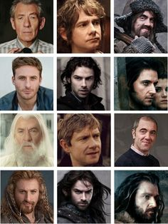 The Hobbit ... Cast and characters
