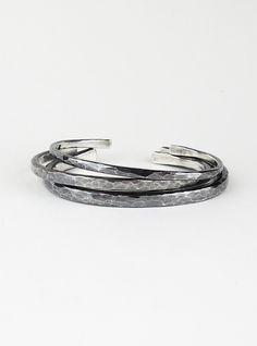 NJAL | Raw Thin Bracelet by Mario Salvucci