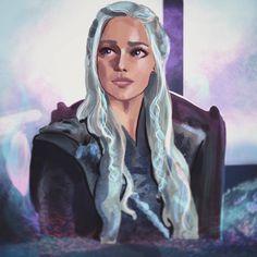Sarah Moustafa GoT Daenerys Targaryen Daenerys Targaryen Art, Khaleesi, Valar Dohaeris, Valar Morghulis, Jon Snow And Daenerys, Got Game Of Thrones, My Champion, Fantasy Movies, Mother Of Dragons