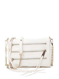 Mini 5-zip- white