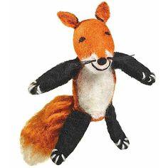 Woolie Finger Puppet - Fox - Wild Woolies (T)