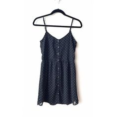 Volcom B&W Polka Dot Dress Fun and flirty B&W polka dot dress. Features adjustable straps and lining throughout. Only used a couple of times. EUC. No trades and no PP please. Offers are welcome through use of the Offer button. Volcom Dresses