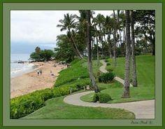 Wailea beach path on Maui