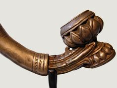 Antique Smoking Pipes | Antique Pipe: Antique Silver and Ebony Tobacco Pipe, EAP01 EAP01