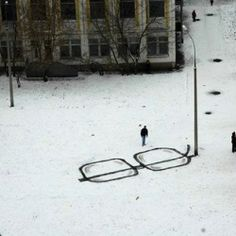 Clever urban interventions by Russian street artist Pavel Puho.