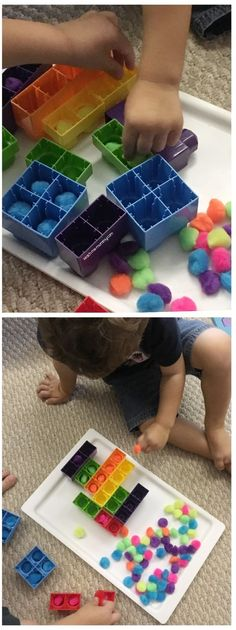 Fine motor and colour match