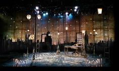 A Christmas Carol. Capital Repertory Theatre. Scenic Design by Paul Tate dePoo III. 2013