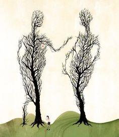 Elegant Illustration by Raquel Aparicio