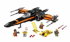 New  748pcs Super Heroes Star Wars First Order Poe X-Wing Star Fighter Building Blocks BB-8  compatible with legoed