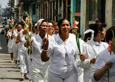 Last Sunday of 2012 Cuba's Ladies in White have protest march for their family members in prison and tortured for their belief in freedom. Of course they were arrested too.