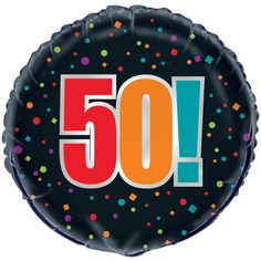 Happy Grumpy Birthday 50th Foil Balloon
