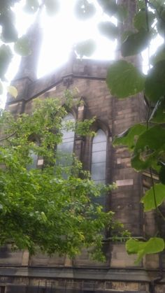 Church by the Civic centre in Newcastle