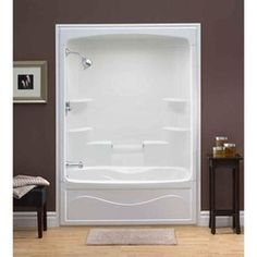 FINALLY Its Been So Difficult To Find An Attractive One Piece - One piece tub shower units