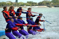 Sarasota Ski-A-Rees perform a spectacular water ski show for FREE Sundays at 2 pm February  through May and mid-September through October.