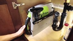 Vroom Central Vacuum Accessory - Kitchen Counter Clean Up