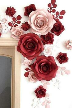 How To Make Paper Flowers, Large Paper Flowers, Paper Flowers Wedding, Tissue Paper Flowers, Paper Flower Wall, Flower Wall Backdrop, Flower Wall Decor, Paper Peonies, Paper Roses