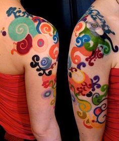 amazing color tattoos - Buscar con Google