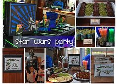 Birthday Party Ideas Entertainers and Venues DC: Star Wars Party from Frosted Events DC Kids Birthday Party