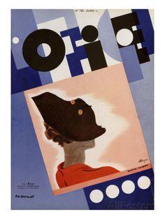 L'Officiel, July 1934 - Marthe Valmont Taidevedos