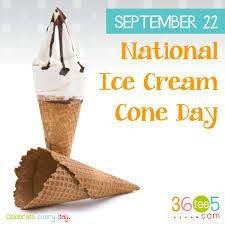 Unusual Holidays, Daily Holidays, National Holidays, National Days In September, September 22, National Day Calendar, Pics For Dp, Chocolate Day, Love Ice Cream