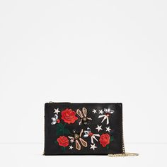 Image 2 of EMBROIDERED CLUTCH from Zara