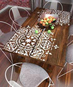 orientalische lampe und andere dekorationen schmuck fürs zuhause deko elemente weiße mandala deko auf dem tisch