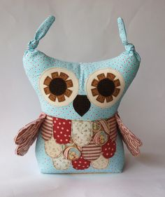 Owl softie sewing pattern PDF Direct Download  by TheMinersWife, $8.00