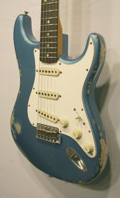 Fantastic limited run featuring Abby handwound pickups! Fender Stratocaster, Fender Guitars, Lake Placid Blue, Fender Custom Shop, Electric Guitars, Acoustic, Bass, 1960s, Instruments
