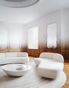 {décor | home tour : an amazing ombré pied-à-terre, paris} by {this is glamorous}, via Flickr