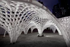 Shellstar Pavillion by Matsys