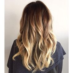 love the hair colour and waves