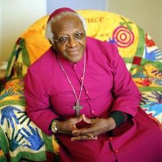 """""""We may be surprised  at the people we find  in heaven.  God has a soft spot  for sinners.  His standards are  quite low.""""    Desmond Tutu"""