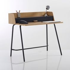 Bureau retro quilda la redoute interieurs la redoute furnitures design pinterest retro for Bureau quilda