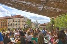Barrio de La Latina, Madrid, España