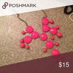 J Crew Bubble Necklace Authentic J Crew Bubble Necklace in Pink J. Crew Jewelry Necklaces