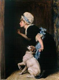 Mother Hubbard - Briton Riviere