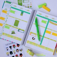 ANyone else decorate their planner for #stpatricksday like @thechiclife #eclifeplanner #STPATTYSDAY