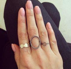 Super cute rings.